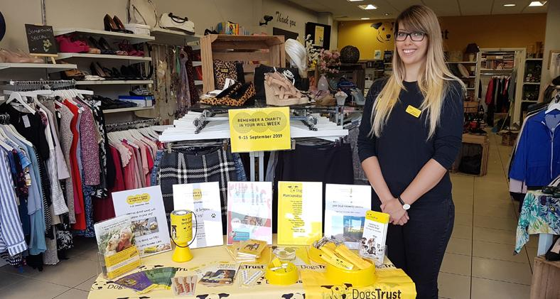 Dogs Trust charity store