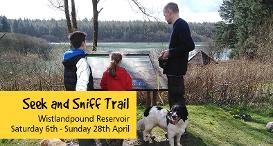 Seek and Sniff Easter Trail, Wistlandpound Reservoir