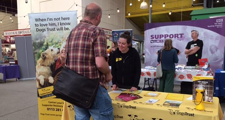 Dogs Trust Leeds attend Dying Matters event