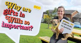 Gifts in Wills allow Dogs Trust to plan for the future