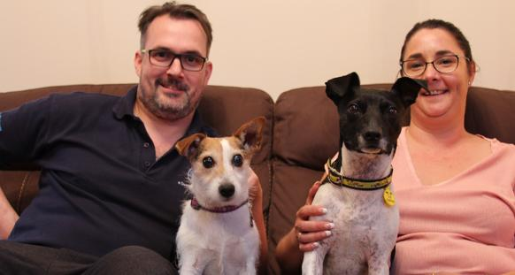 former stray takes on role of guide dog for blind canine companion dogs trust For the Blind Guide Dog Foundation guide dogs for the blind rehoming scotland
